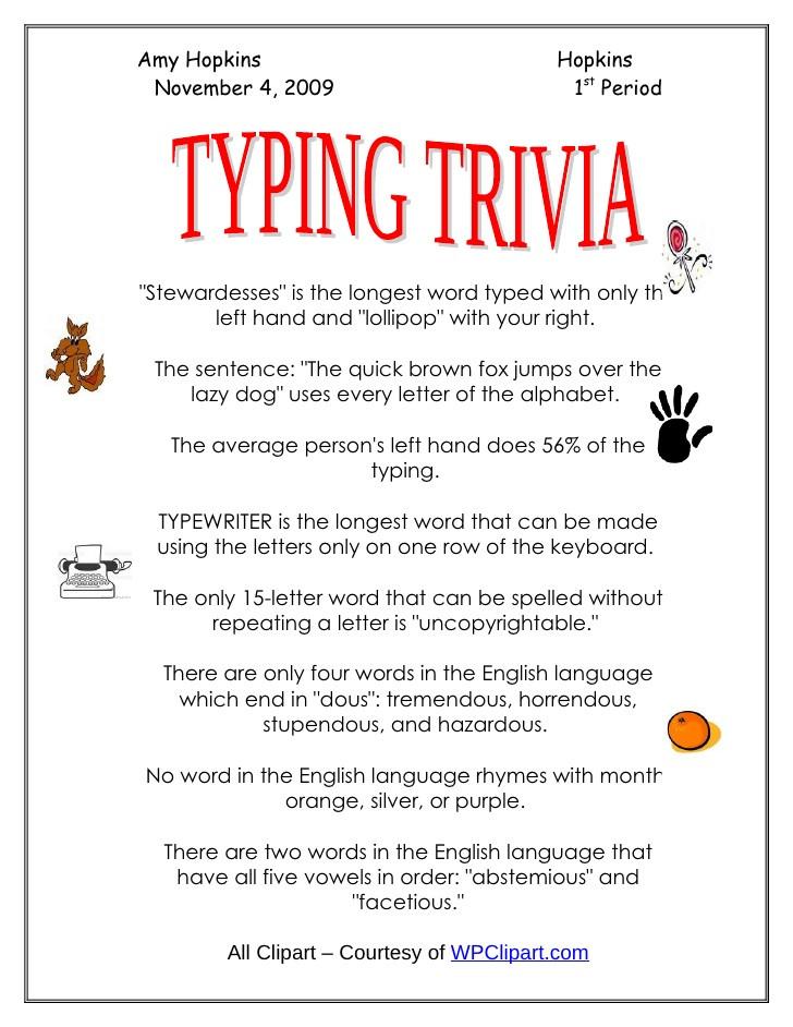 typing trivia keyboarding practice 1 728