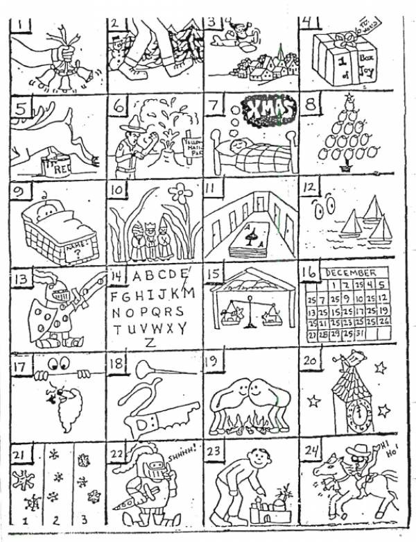 Printable Rebus Puzzles for Kids Christmas Rebus Puzzles with Answers