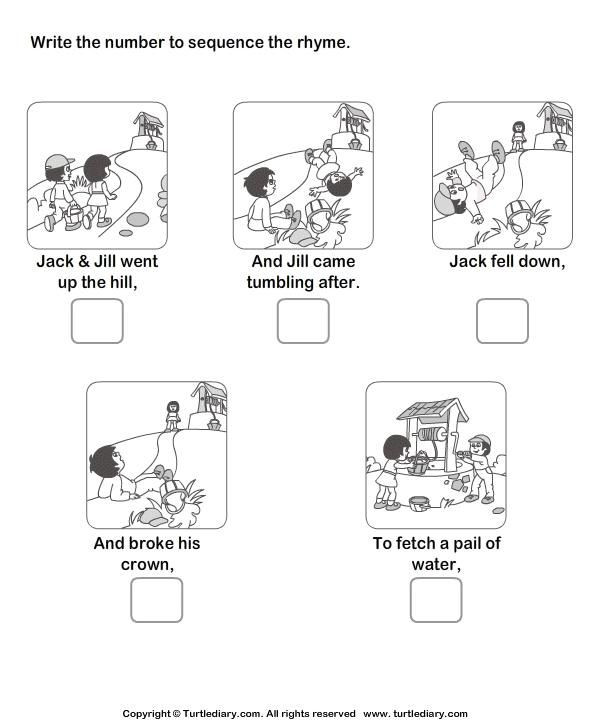 Printable Sequence Worksheets Free Printable Sequencing Worksheets for First Grade 3