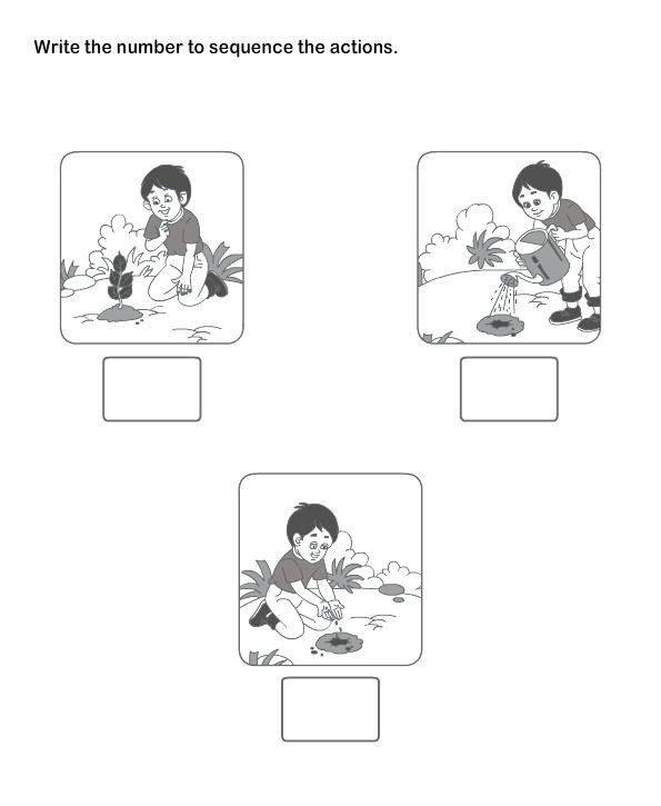 Printable Sequencing Worksheets Sequencing Worksheets for Preschool – Dailycrazynews