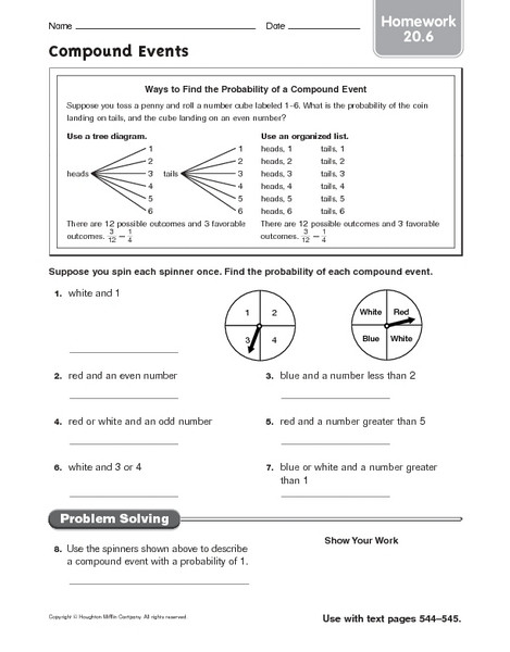 Probability Worksheet 6th Grade 28 Probability Worksheet 6 Pound Answers Worksheet