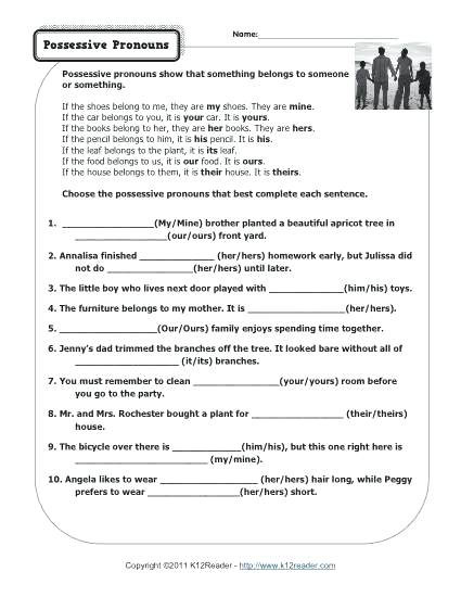 Pronouns Worksheets 5th Grade Nouns and Pronouns Worksheets About This Worksheet Nouns and