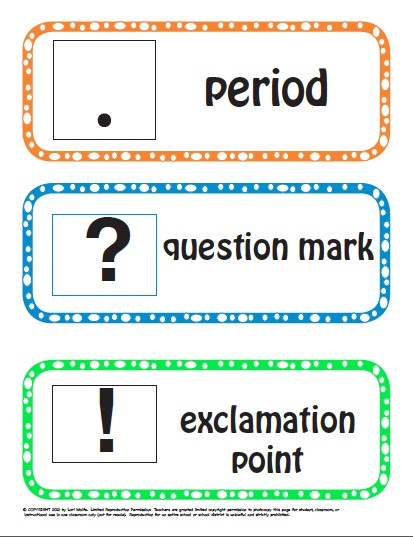 Punctuation Worksheets for Kindergarten Punctuation Preview Lessons Tes Teach