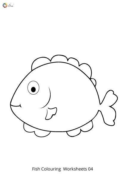 Rainbow Fish Printable Worksheets Free Downloadable Fish Worksheet for Kids In 2020