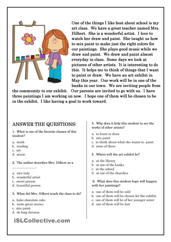 Reading Worksheets 5th Grade 2nd Grade Reading Worksheets