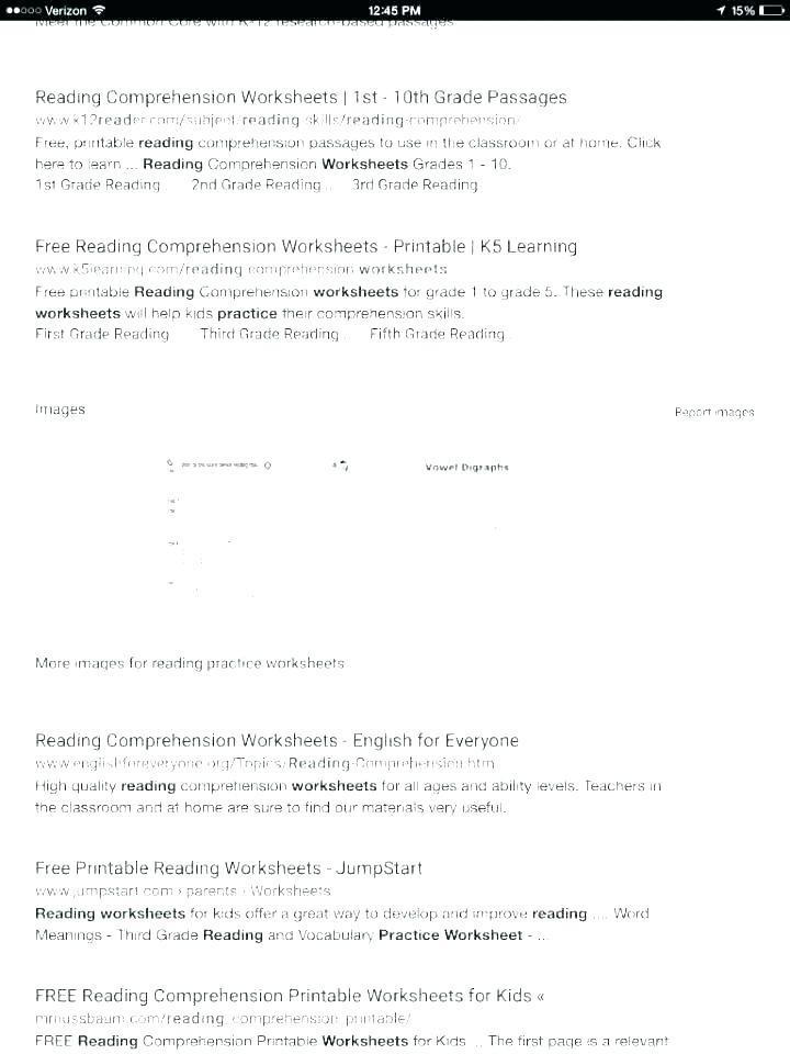 Reading Worksheets Grade 5 Reading and Prehension Worksheets for Grade 5