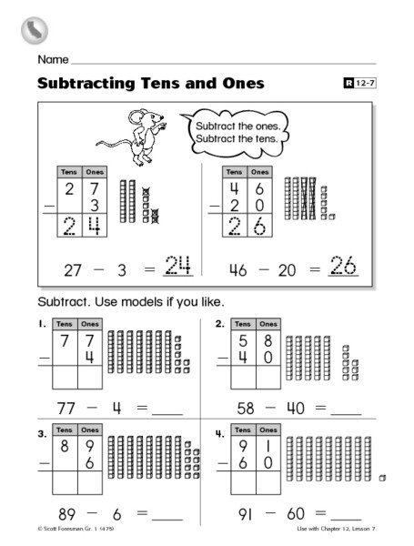 Repeated Addition Worksheets 2nd Grade Adding Tens and Es Worksheets Free Worksheets Decimals and