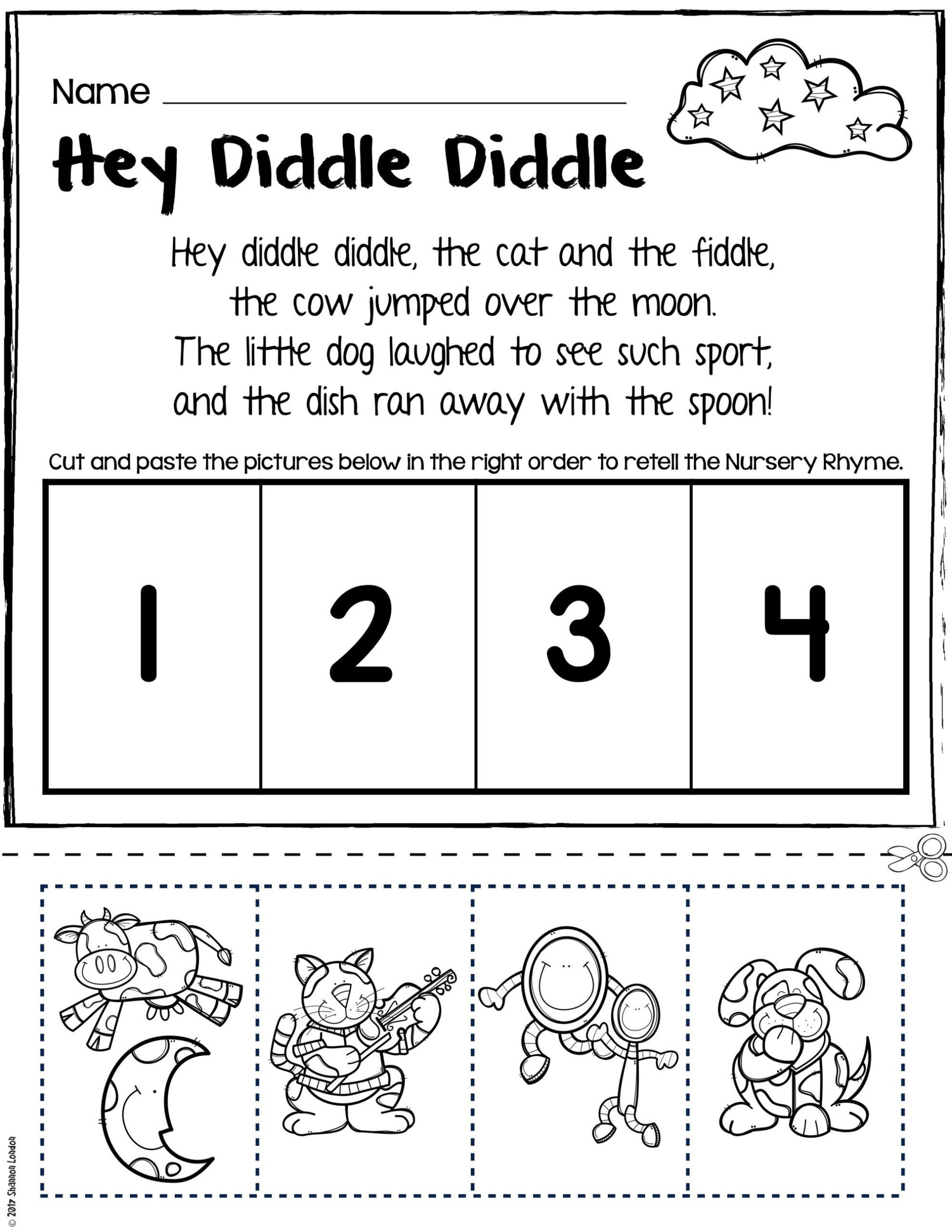 Rhyming Worksheets for Preschool Free Rhyming Worksheets for Preschool Worksheet Teeth Kindy