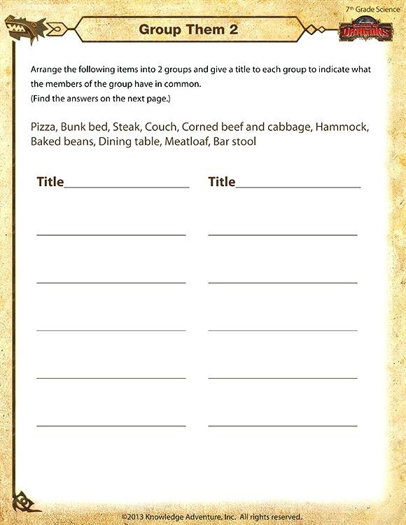 Science Worksheets for 7th Grade Free Printable 7th Grade Science Worksheets – Goodaction