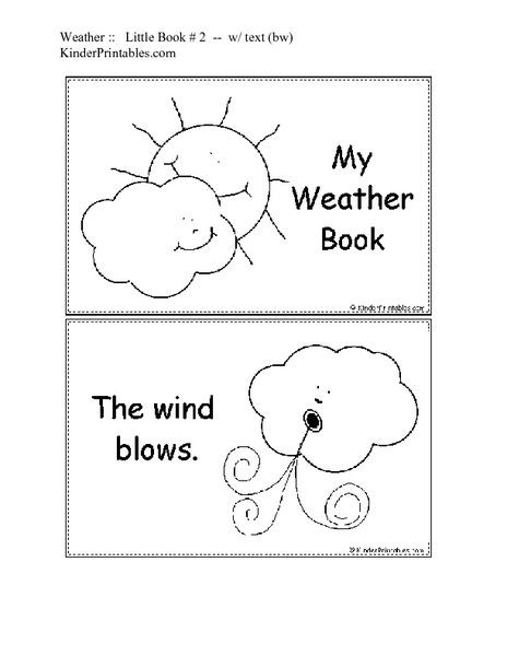 Seasons Worksheets Kindergarten Free Printable Kindergarten Weather Worksheets