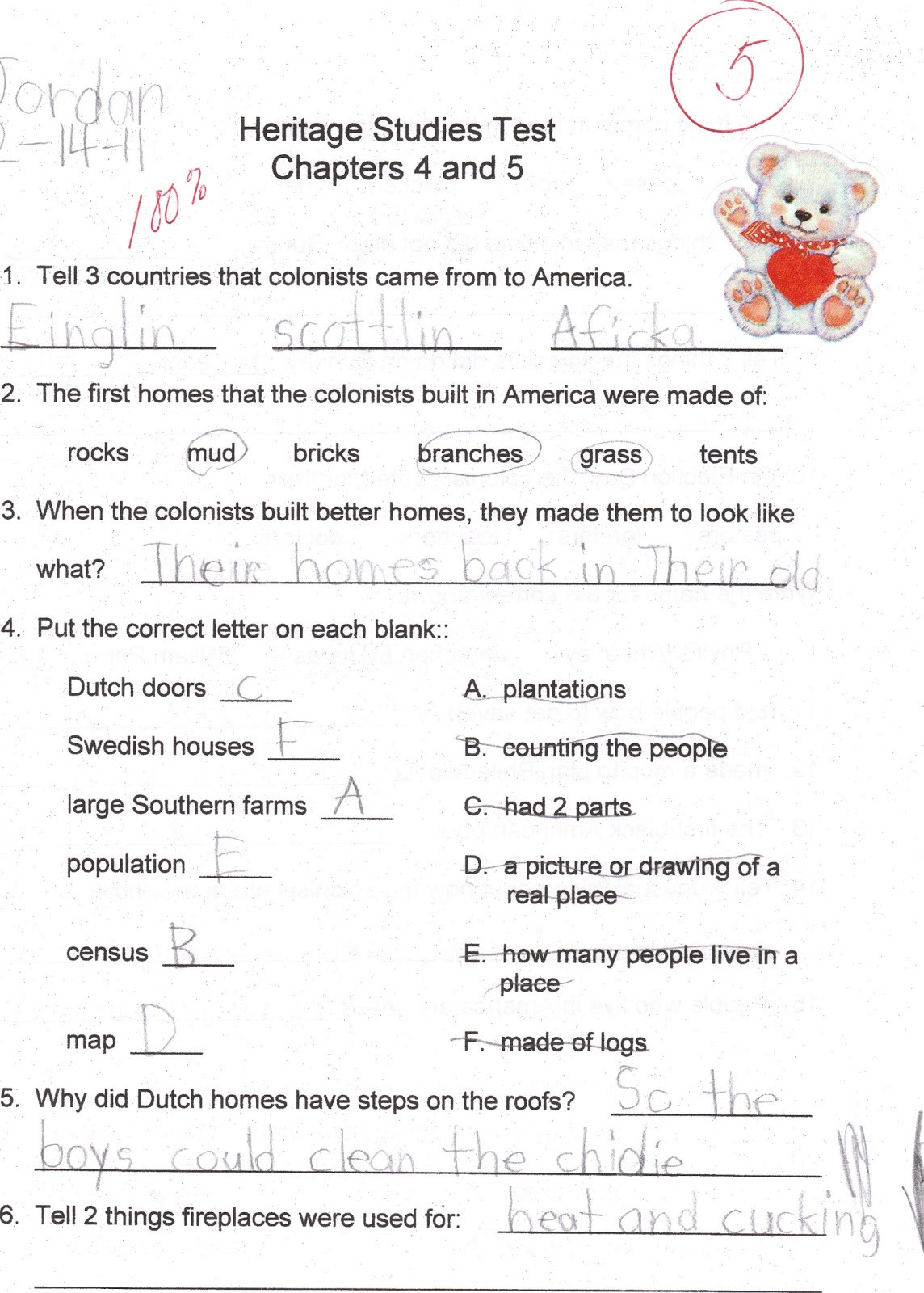 Second Grade History Worksheets 2nd Grade History Worksheets