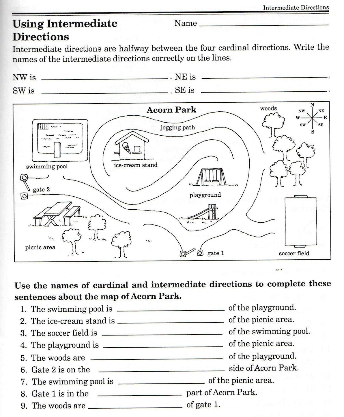 Second Grade History Worksheets social Stu S Skills