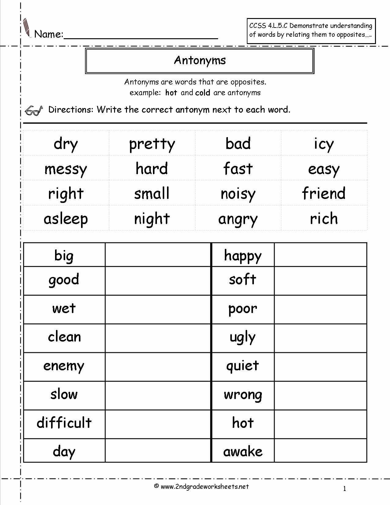 Second Grade Spelling Worksheets 2nd Grade Grammar Worksheets Pdf New Free Language Grammar
