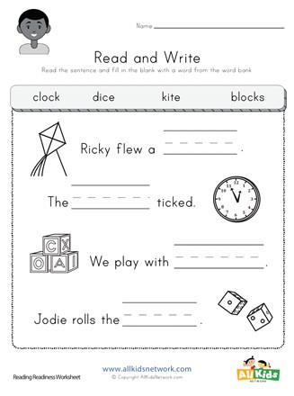 Sentence Worksheets for First Grade Plete the Sentences Worksheet