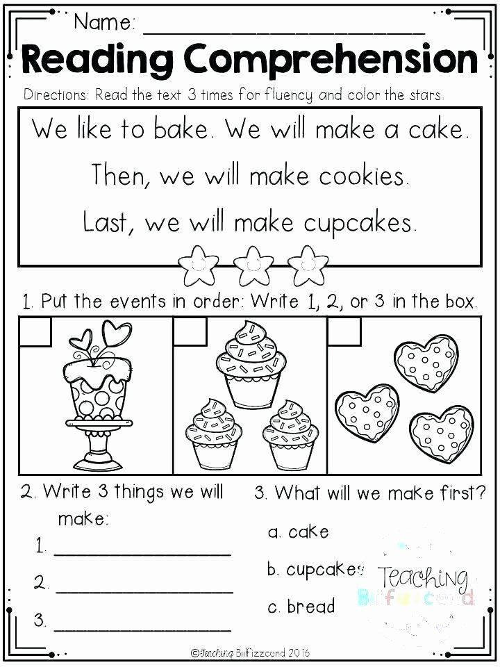 Sequencing Worksheet Kindergarten Kindergarten Sequencing Worksheet before and after