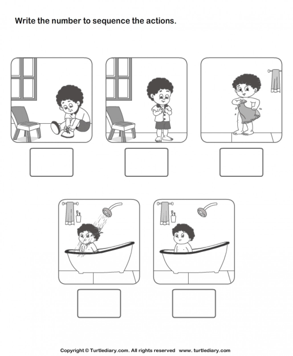 Sequencing Worksheet Kindergarten New Sequencing events Worksheet