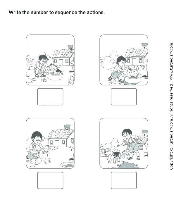 Sequencing Worksheet Kindergarten Pin On Printable Worksheet for Kindergarten