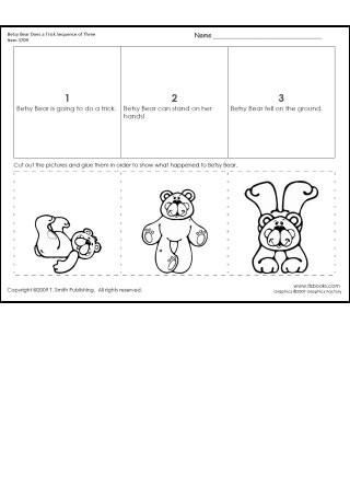 Sequencing Worksheets Kindergarten Sequencing events Worksheets for Kindergarten & Counting