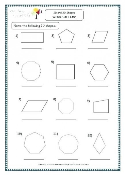 Shapes Worksheets 1st Grade Shapes Worksheets 1st Grade