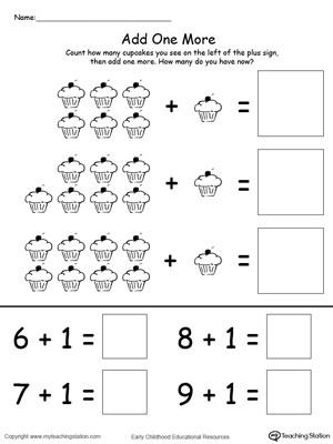 Simple Addition Worksheets for Kindergarten Kindergarten Addition Printable Worksheets