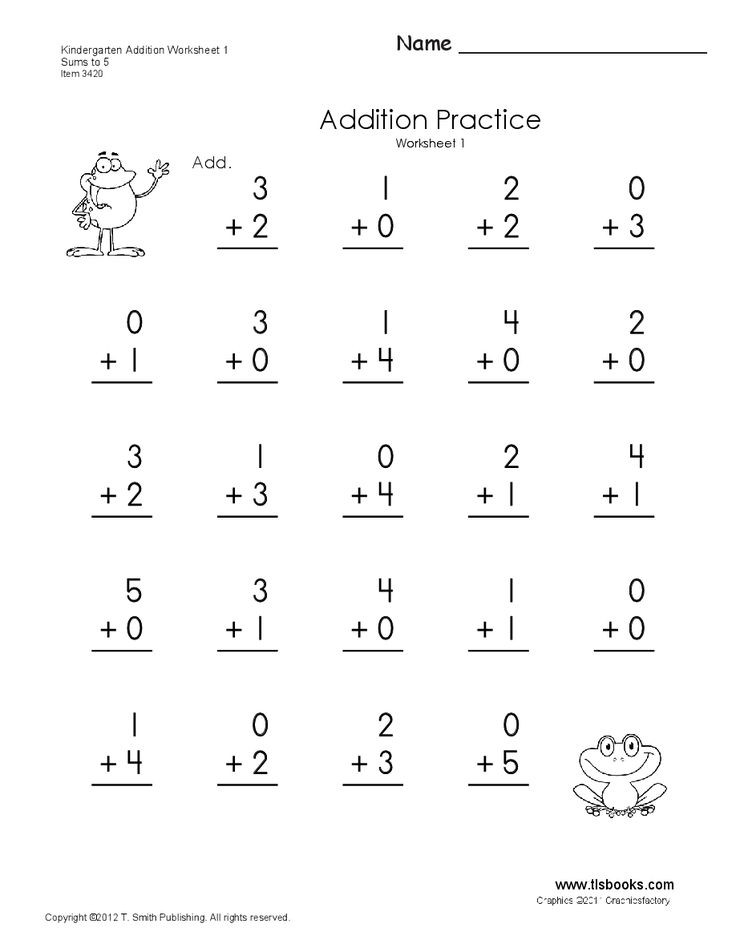 Simple Subtraction Worksheets for Kindergarten Addition Subtraction Numbers 1 10 Kinder Lessons Tes Teach
