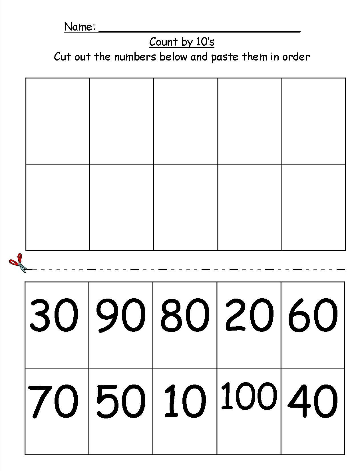 Skip Counting Worksheets First Grade Pin On 1st Grade Math Time