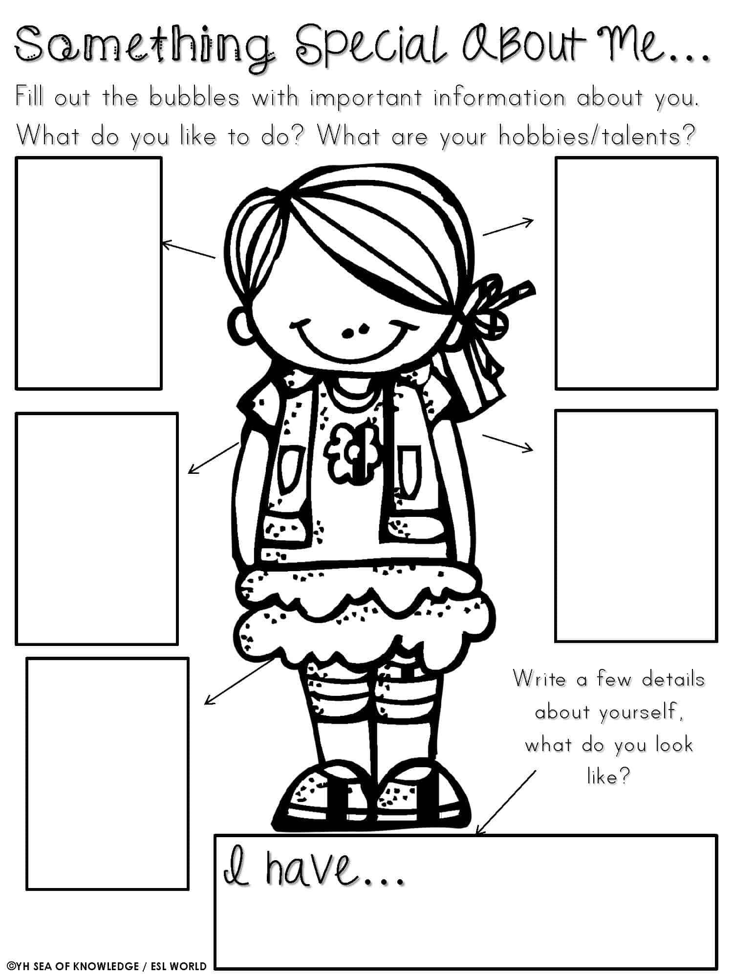 Social Skills Worksheets for Kindergarten social Skills Worksheet for Kindergarten