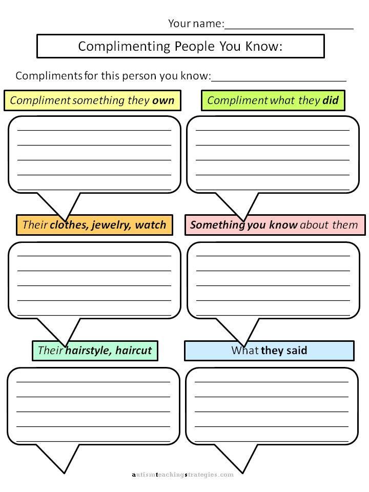 Social Skills Worksheets for Kindergarten top Free Printable social Skills Worksheets for Adults