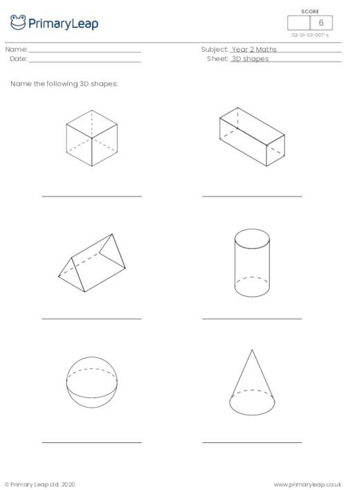 Solid Shapes Worksheets for Kindergarten 3d Shapes Worksheets for Kindergarten & Free Shapes