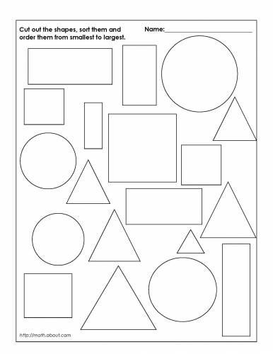 Sorting Shapes Worksheets for Kindergarten Kindergarten sorting Worksheet & 17 Best Images About