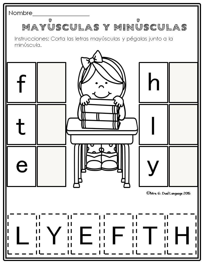 Spanish Alphabet Worksheets for Kindergarten El Alfabeto Alphabet Practice Pages In Spanish with Images