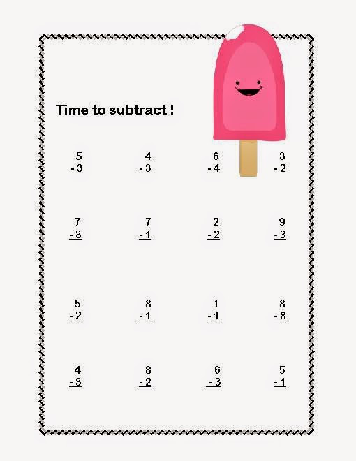 Subtraction Worksheets 1st Grade Addition and Subtraction Worksheet for First Grade & Adding