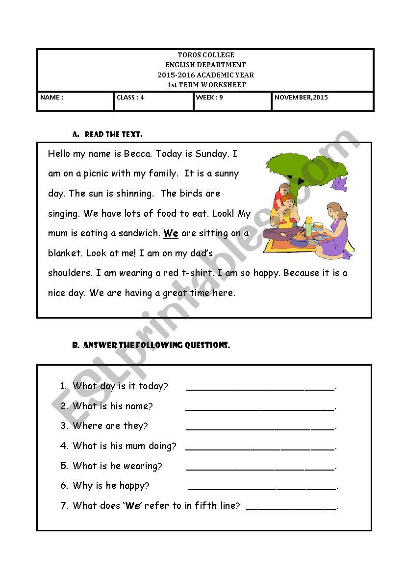 Tenses Worksheets for Grade 6 Present Continuous Tense Esl Worksheet by Mesgure