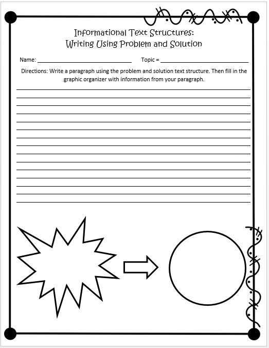 Text Structure 5th Grade Worksheets Informational Text Structures 4th and 5th Grades