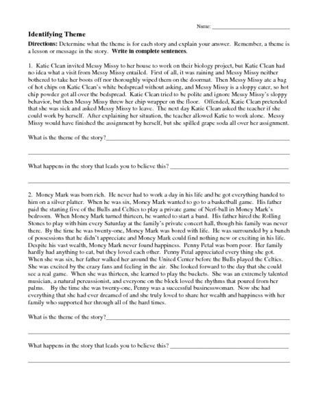 Theme Worksheets for 5th Grade 1989 Generationinitiative Page 7 Yellowstone National Park