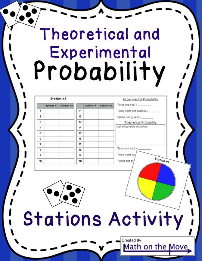 Theoretical Probability Worksheets 7th Grade Seventh Grade Probability Lessons Tes Teach