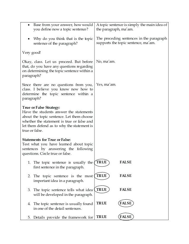 Topic Sentence Worksheets 5th Grade Find the topic Sentence Worksheets – Keepyourheadup