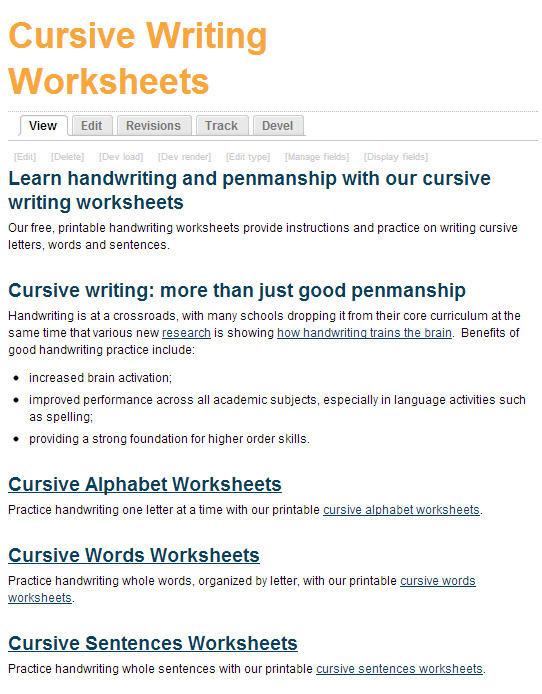 Typing Worksheets Printables Free Printing and Cursive Handwriting Worksheets