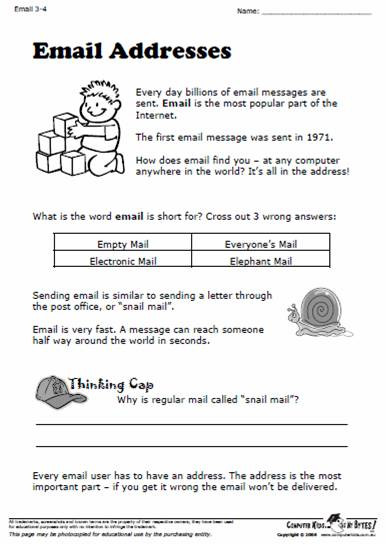 Typing Worksheets Printables Puter Kids – Eat My bytes