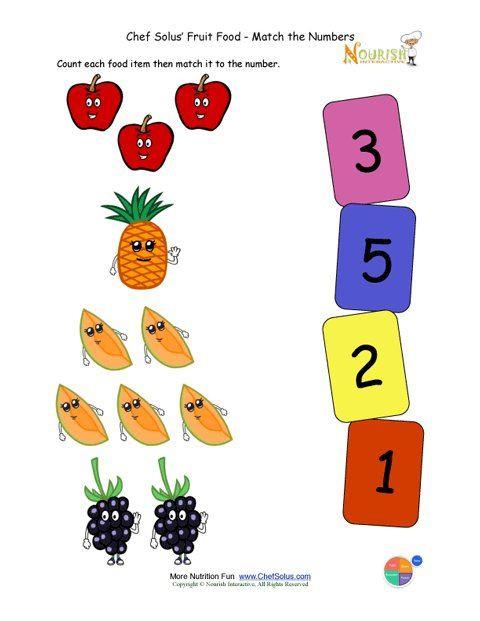 Vegetable Worksheets for Preschool Fruit and Ve Able Worksheet for Kids
