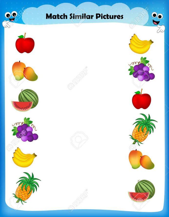 Vegetables Worksheets for Kindergarten Fruit and Ve Ables Worksheet for Kindergarten لم يسبق له