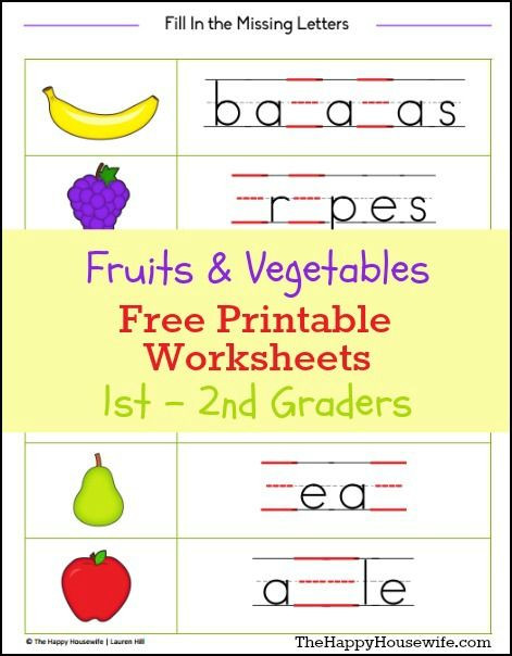 Vegetables Worksheets for Kindergarten Fruits and Ve Ables Worksheets Free Printables