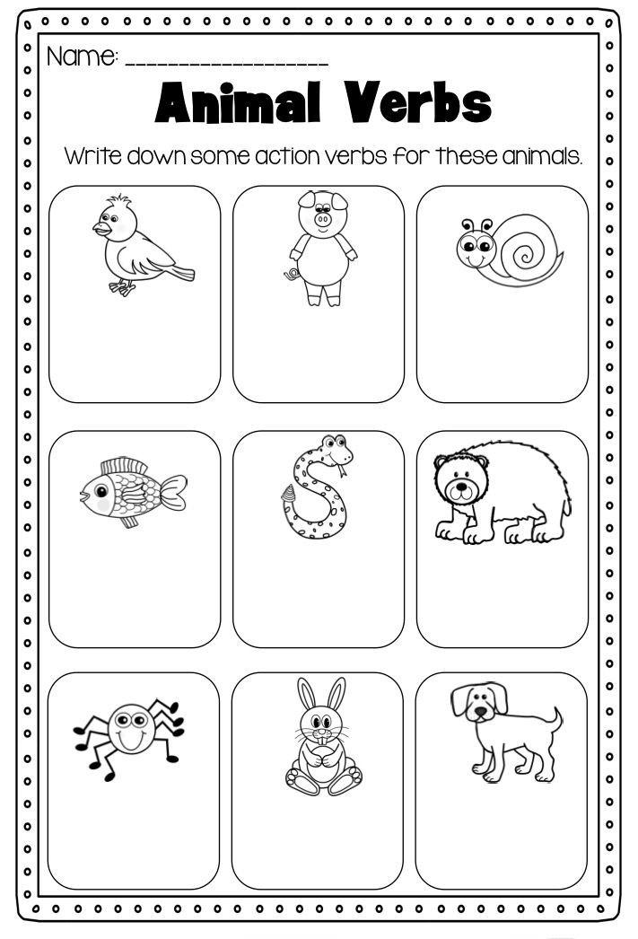 Verbs Worksheets for 1st Grade 1st Grade Worksheets Best Coloring Pages for Kids