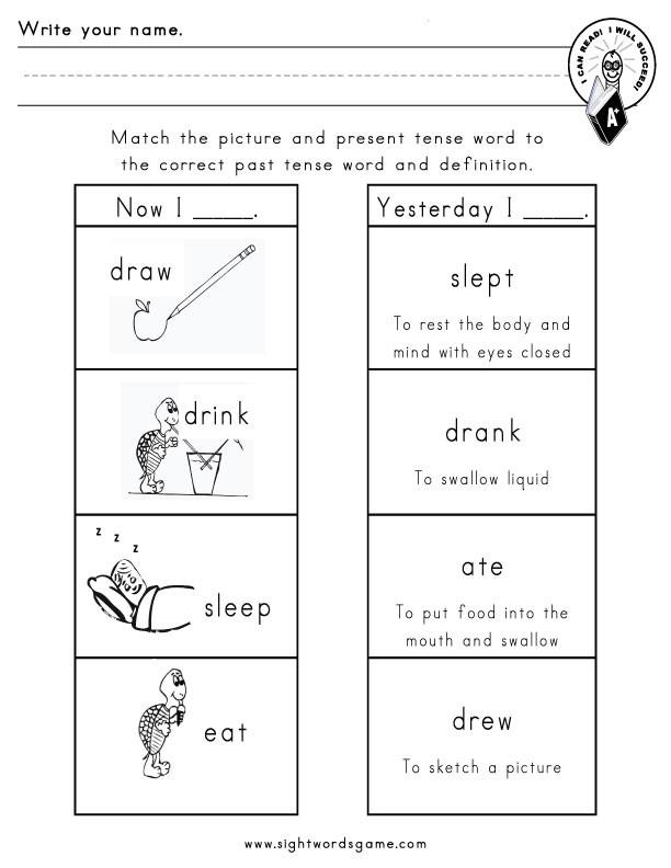 """Verbs Worksheets for 1st Grade Action Verb Worksheets for 1st Grade لم يسبق له Ù…Ø ÙŠÙ"""" الصور"""