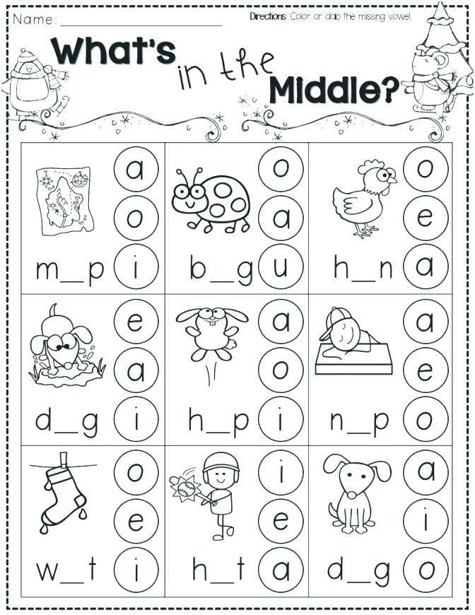 Vowel Worksheets for Kindergarten Kindergarten Vowel Worksheets – Lifestyletravelsub