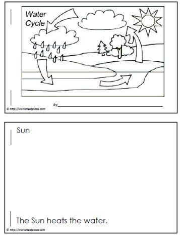 Water Cycle Worksheet Kindergarten Water Cycle Booklet