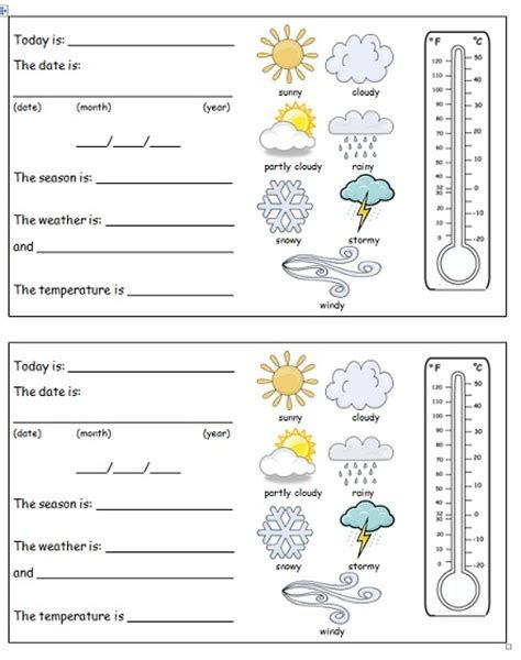 Weather Worksheets for 2nd Graders Pin by Kylee Timperley On Teacher