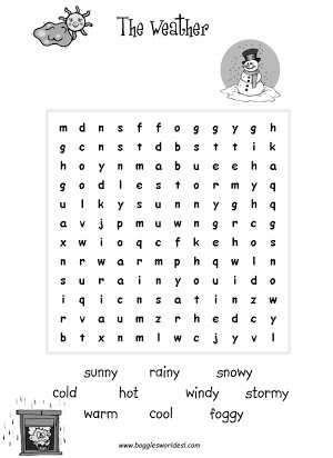 Weather Worksheets for First Graders Free Weather Activities for Second Grade