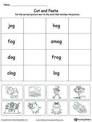 Word Family Worksheet Kindergarten Word Family Worksheets Kindergarten at Word Family