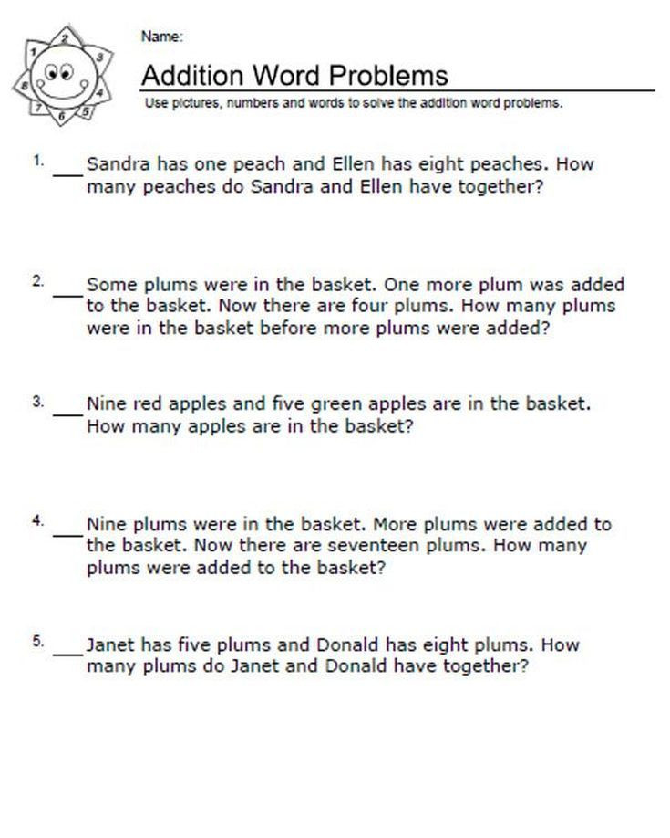 Word Problems Worksheets for Kindergarten these Worksheets Will Help Your Kids Learn ordinal Numbers